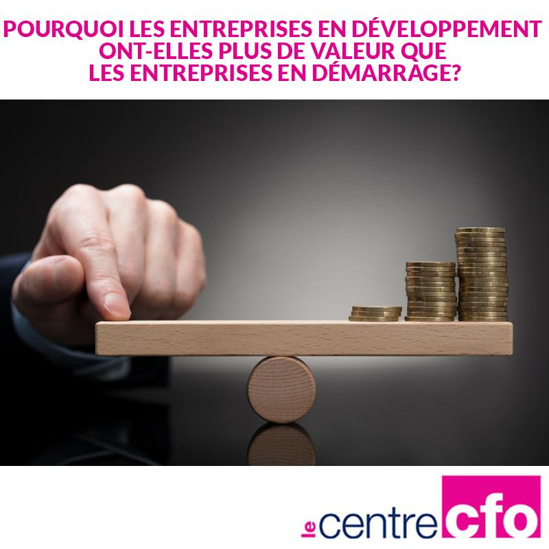 Entreprises en développement VS entreprises en démarrage
