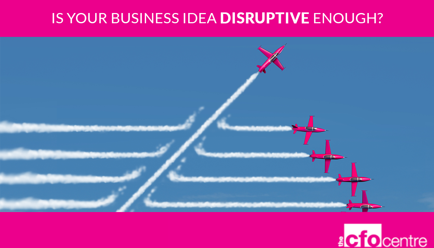 Scale up with the CFO Centre - Disruptive Ideas