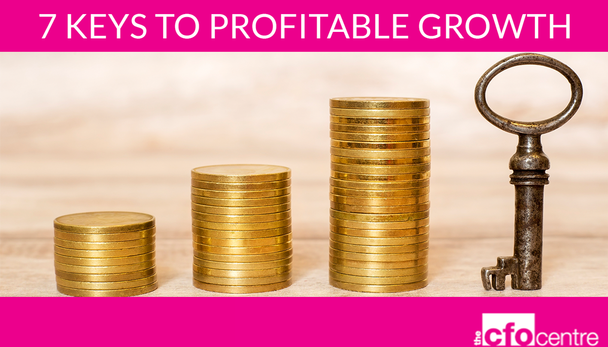 7 keys to profitable growth | The CFO Centre Canada